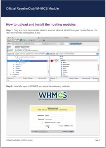 whmcs module guide