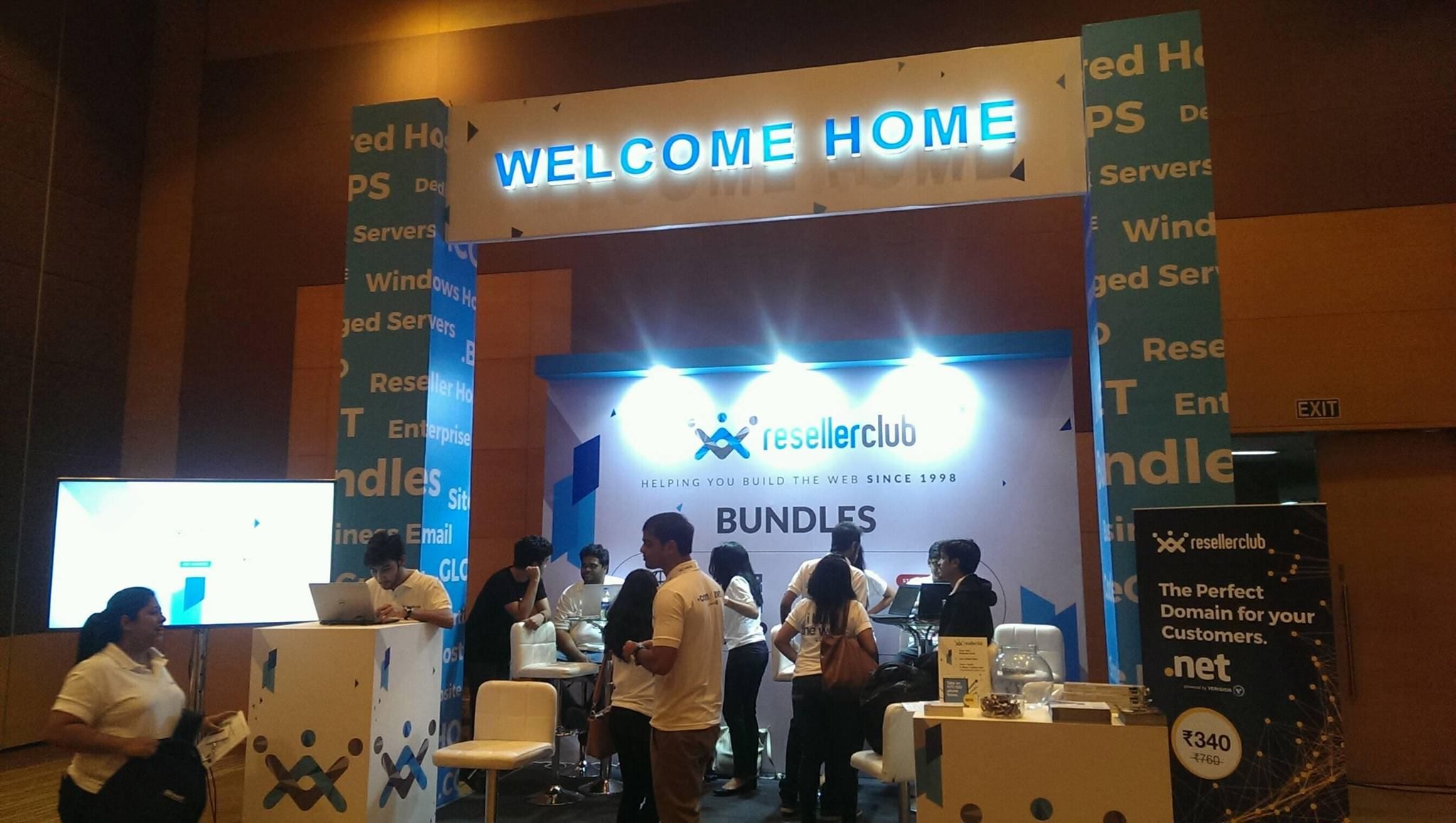 welcome home whd2015 booth