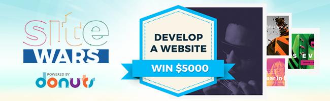 sitewars the web design contest with 5000 cash prize