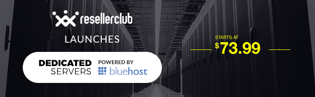 bluehost dedicated on resellerclub