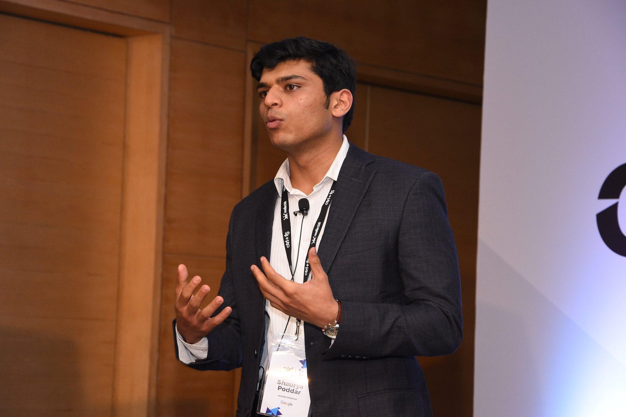 shaurya poddar google ctrl f5 chennai 2017 resellerclub blog