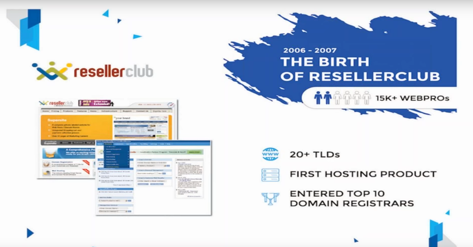evolution of resellerclub shridhar webinar rc blog