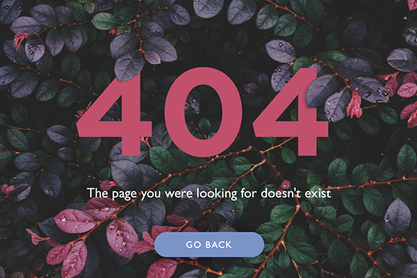 indicates that either a page a user was looking for was moved or redirected Error: 404 Page not Found – Turn the Bane into a Boon