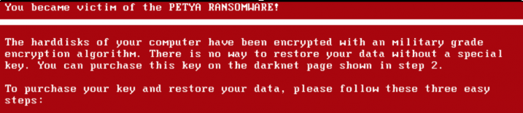 has quickly targeted computer systems all over the globe crippling large firms across Eur Another Ransomware Attack Petya makes Headlines