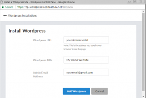 how to create a blog search engine wordpress