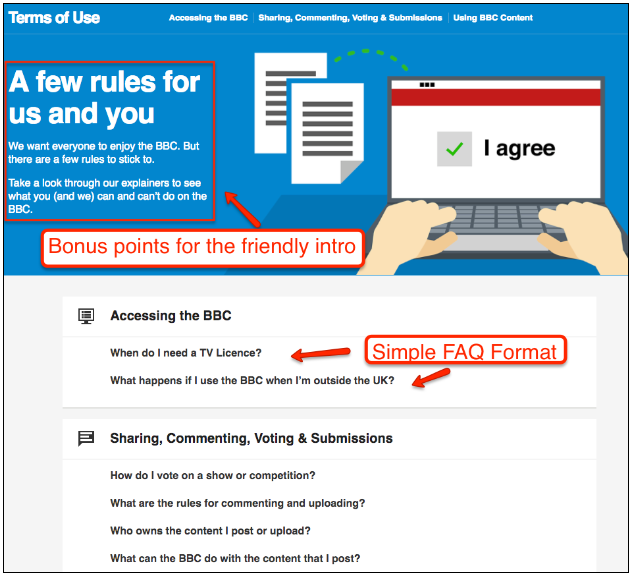 When it comes to designing or improving the UX of a website The Case For Improving the UX of Your Terms and Conditions Page (and 6 Easy Ways To Do It)