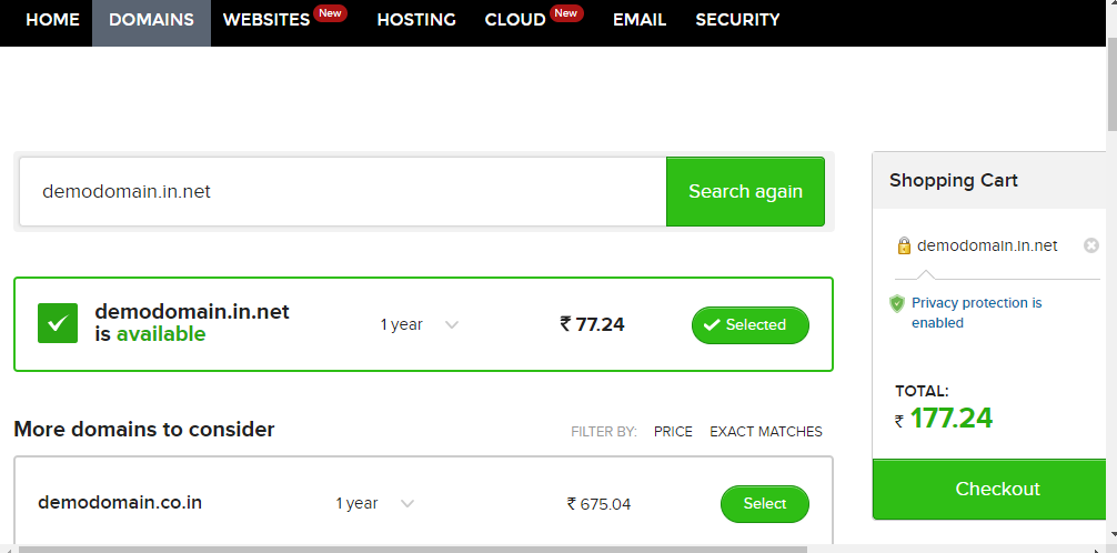 on features that you can choose to purchase along with your domain Do I need Domain Privacy Protection