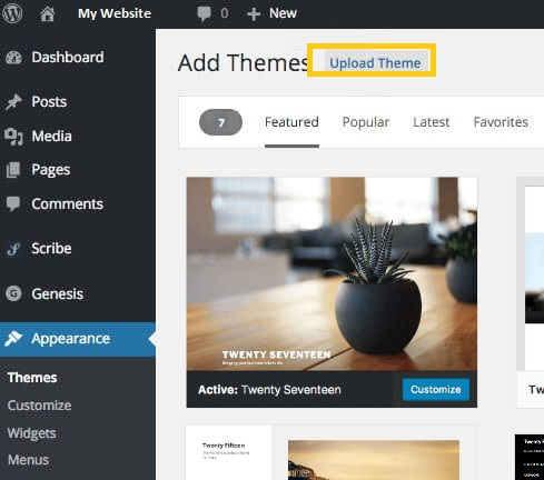 One of the basic things before you move your business online is to build a website How to Install a WordPress Theme
