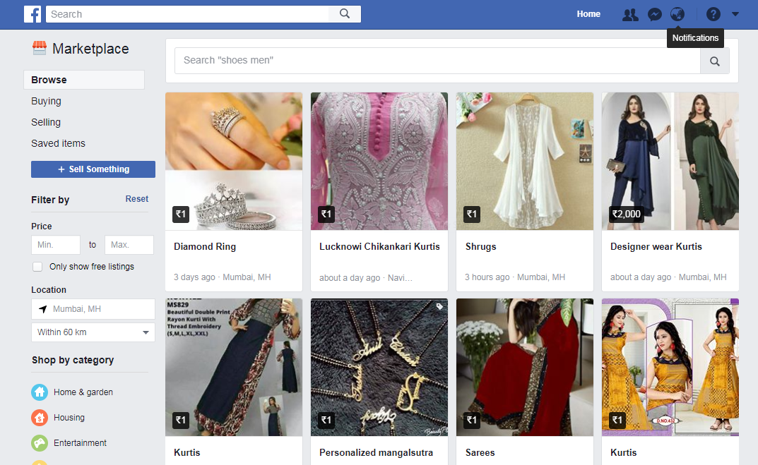 Facebook Marketplace - What it means for Web Designers