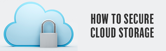 how secure is cloud storage