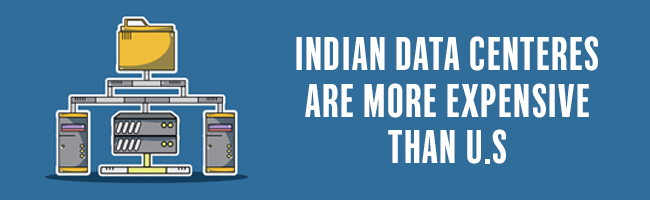 Indian data centers expensive than US