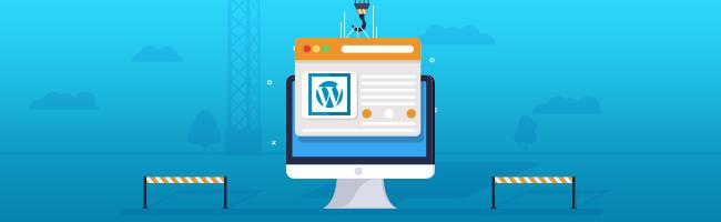How to put WordPress Site in Maintenance Mode