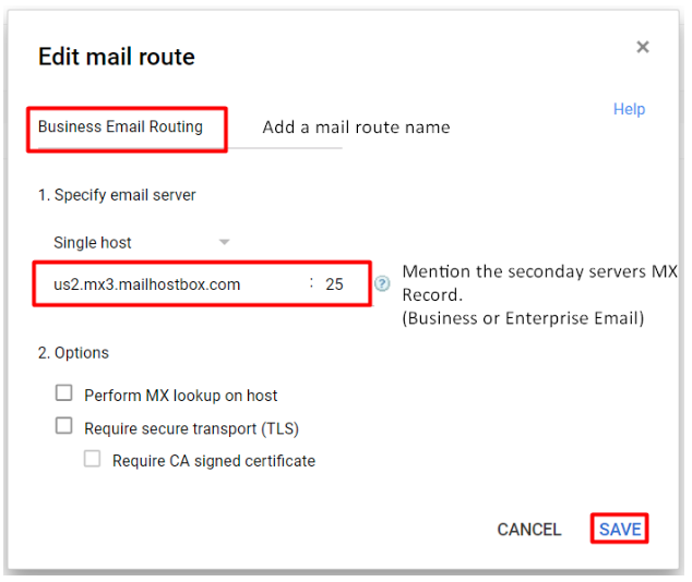 is to address a query you might have had about split delivery from a single domain Split Delivery: G Suite  Business Email